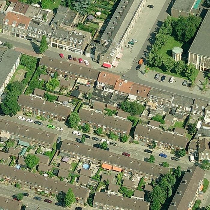 09.001 Prijsvraag Nazareth Maastricht - 00 - Luchtfoto Bestaand