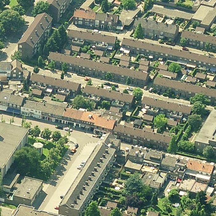 09.001 Prijsvraag Nazareth Maastricht - 03 - Luchtfoto Bestaand