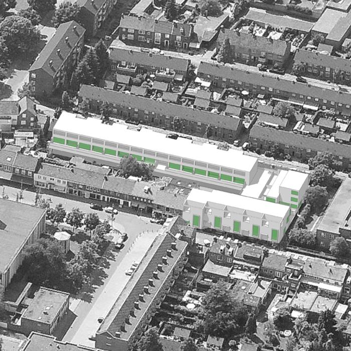 09.001 Prijsvraag Nazareth Maastricht - 04 - Luchtfoto Impressie Nieuw
