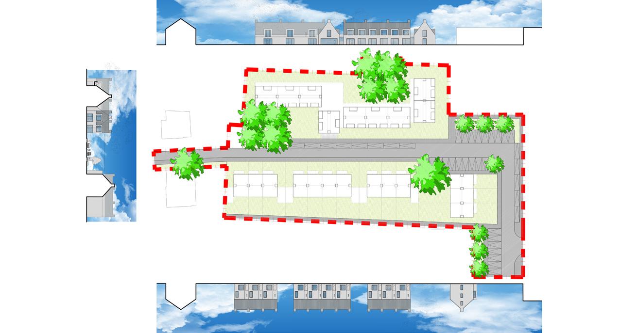 13.018 - Stedenbouw Neerbeek - 05 - Prent