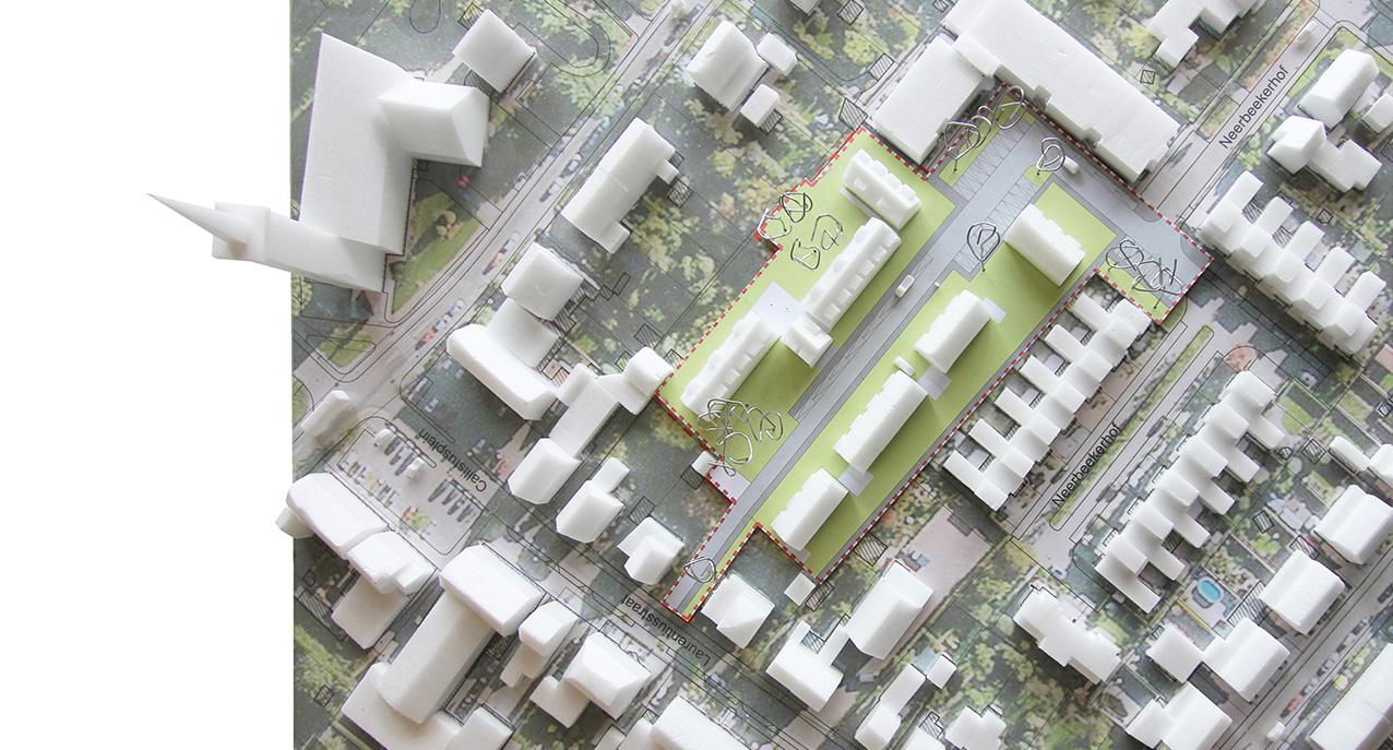 13.018 - Stedenbouw Neerbeek - 06 - Maquette Overzicht