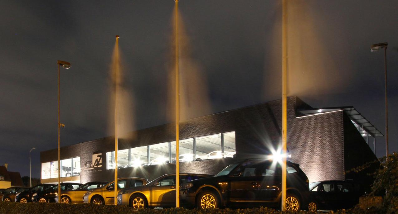 05.000 - Garage - 08 - Nacht Vanaf rotonde