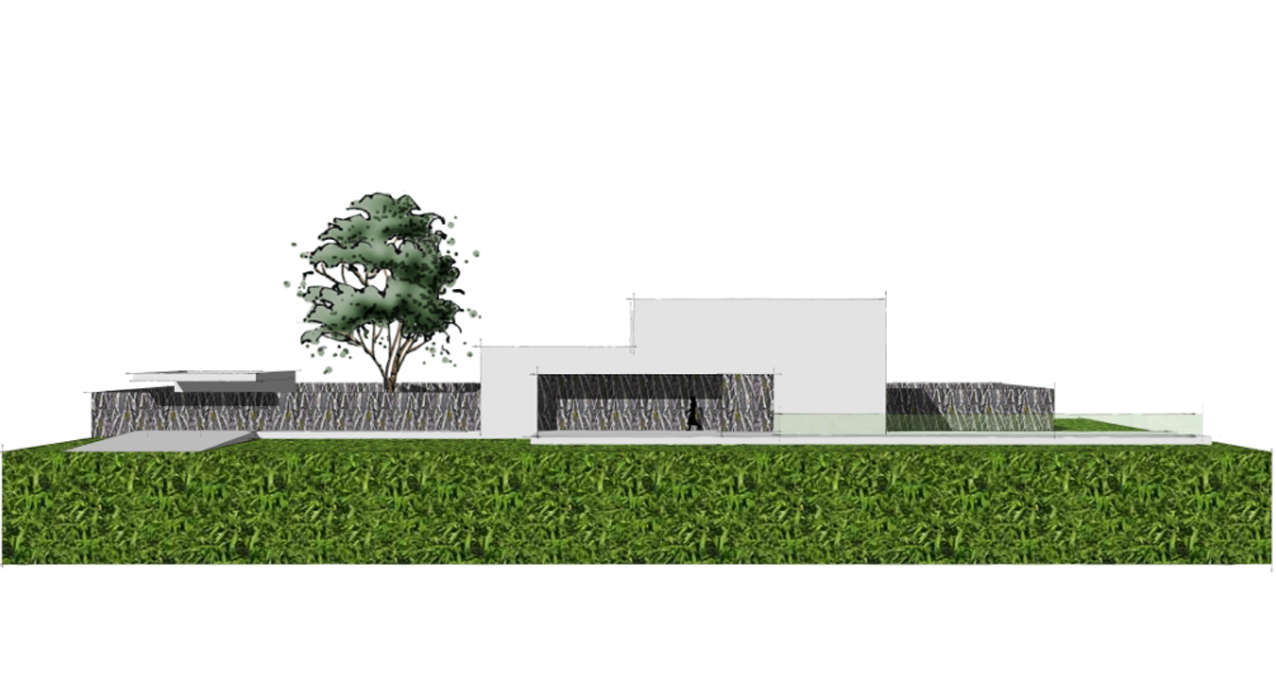 06.008 - Villa Lanaken - Impressie Voorgevel