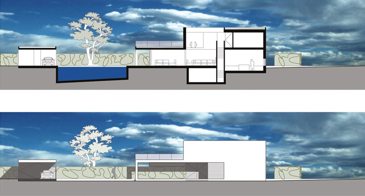 06.008 - Villa Lanaken - aanzicht en Doorsnede